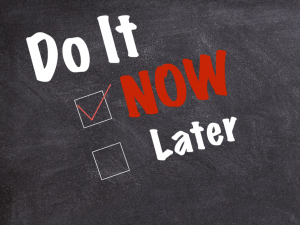 Writers – 5 Steps to Eliminate Procrastination